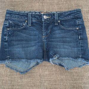 EUC Paige Jean Shorts Size 25.